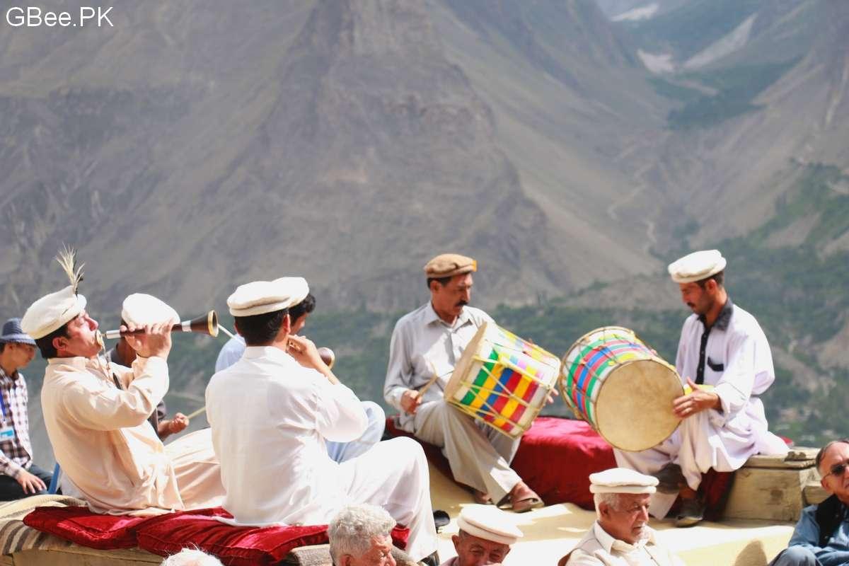 Ginani Festial - Hunza traditional band