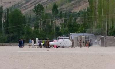 Pakistan Army Helicopter Crashes in Aliabad Hunza