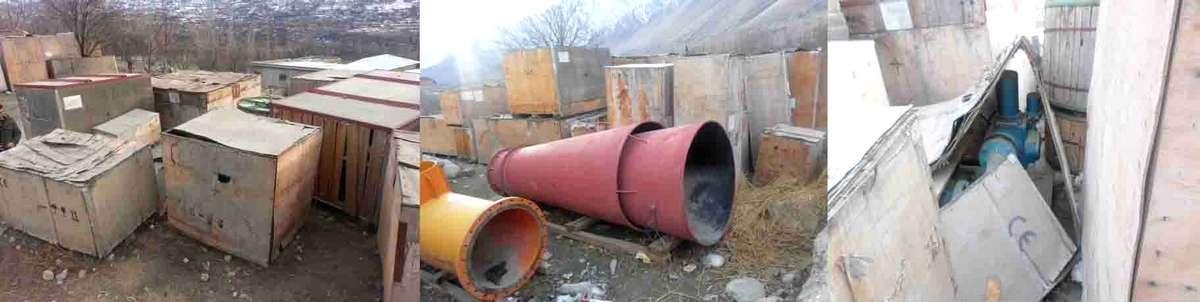 misgar hydro power project machinery