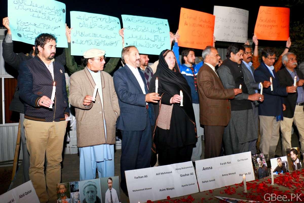 Civil society of Chitral gathers at Press Club Islamabad in solidarity with PK-661 affectees