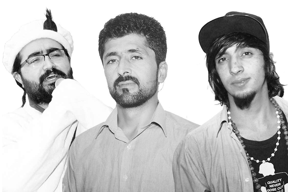 Left to Right: D.W. Baig, Zulfiqar Hussain Barcha and Rameez Barcha.