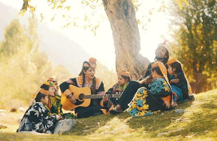 Zoe Viccaji and Irfan Ali Taj