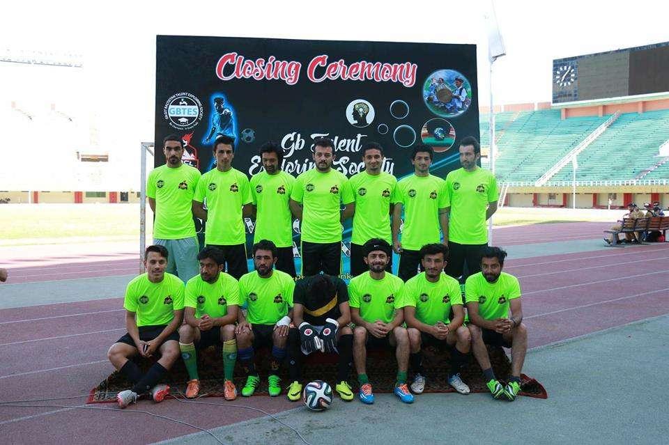Gilgit-Baltistan Champions League - GBCL Season 2 winners