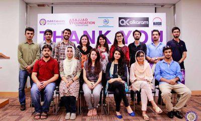 Habib University sends 15 Pakistani students for Enterprise Summer Program in Singapore