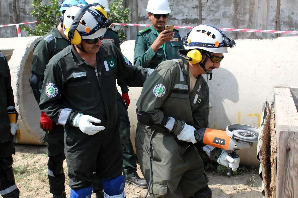 Aga Khan Agency for Habitat (AKAH) invests in building capacities of its Search and Rescue Teams (SART)
