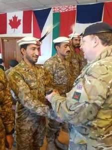 Gilgit-Baltistan's Northern Light Infantry (NLI) Wins Gold Medal at Exercise Cambrian Patrol 2018