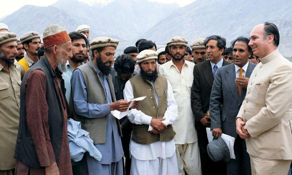 Aga Khan in Gilgit