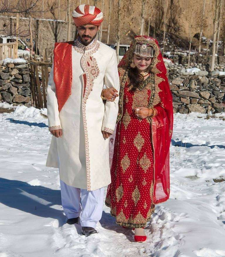 Hunza Couple in Gulmit, Gojal