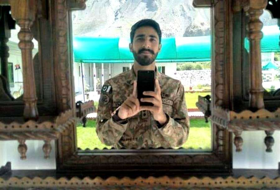 Lieutenant Azhar Abbas from Astore district of Gilgit-Baltistan has embraced martyrdom in Siachin