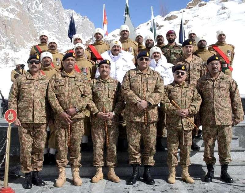 Chief of Army Staff in Siachen Gilgit-Baltistan