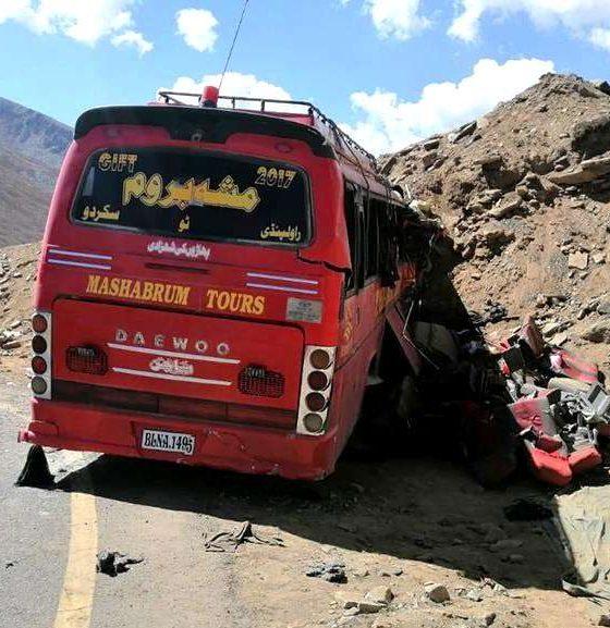 Mashabrum Tours Bus Service Accident