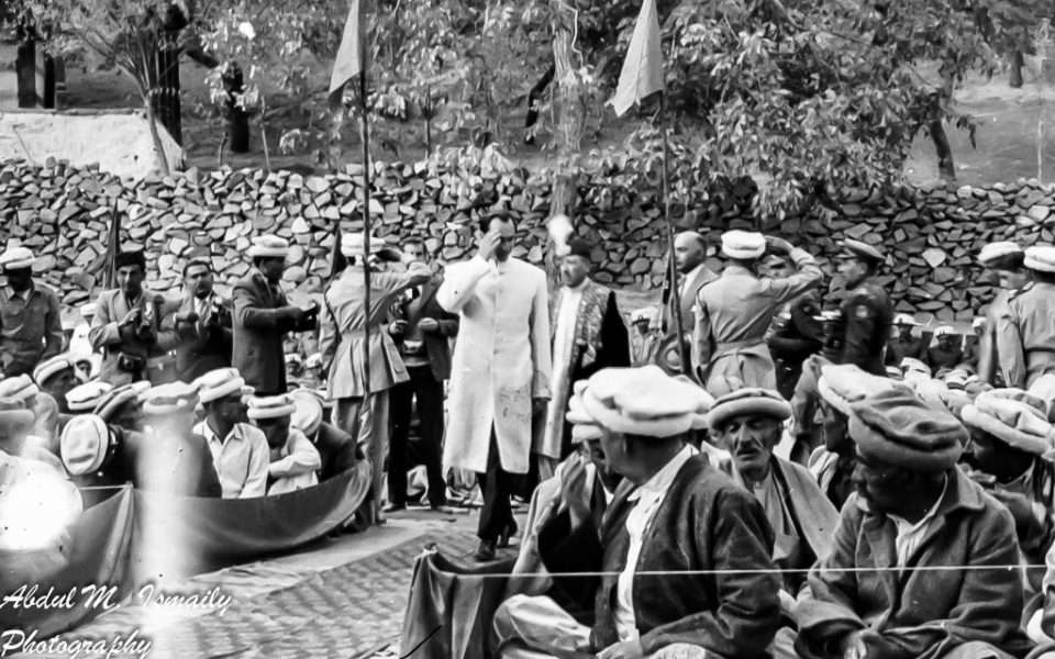 Aga Khan first visit to Hunza Valley 1960
