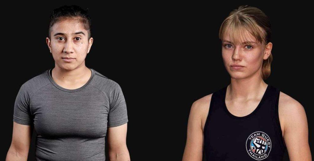 Anitan Karim (Pakistan) vs Marie Ruumet (Estonia)