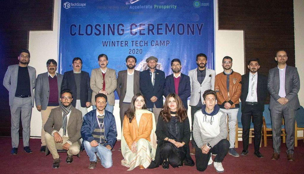 TechScape Winter Tech Camp at Karakoram International University Gilgit
