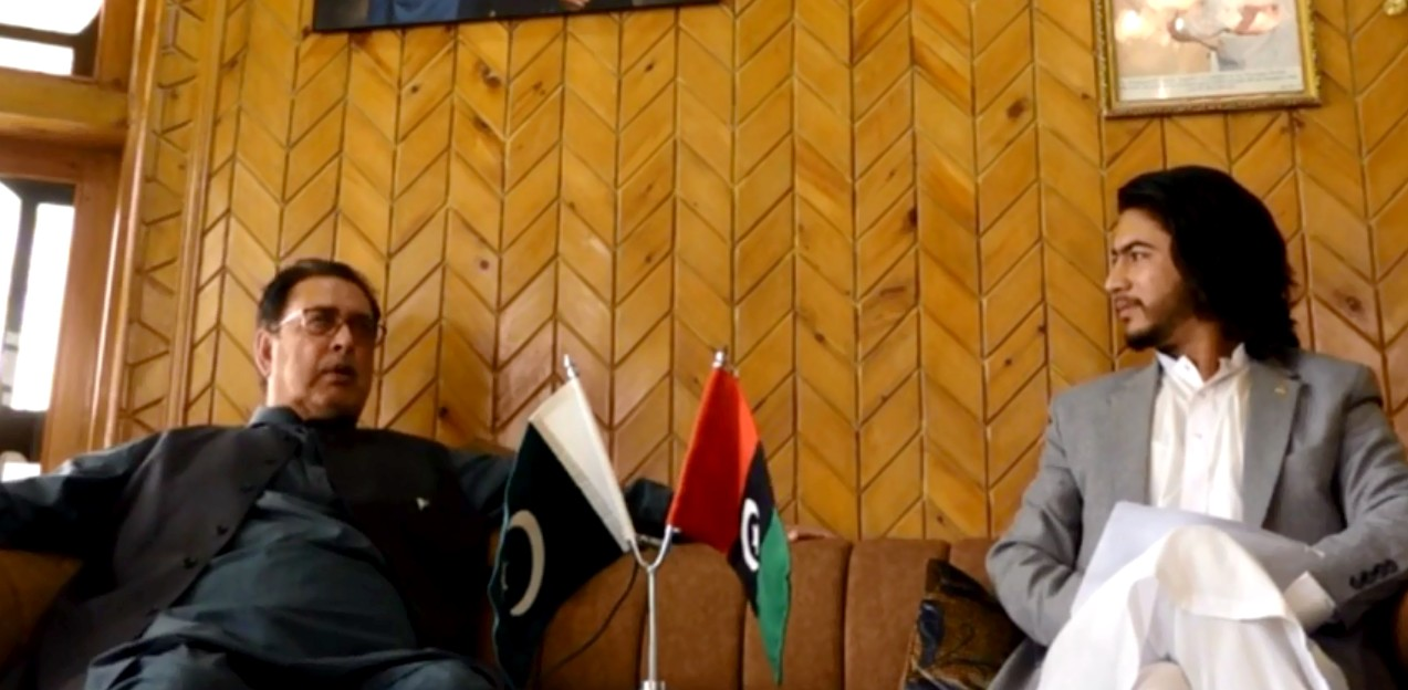 Interview with Syed Mehdi Shah -Ex Chief Minister Gilgit-Baltistan