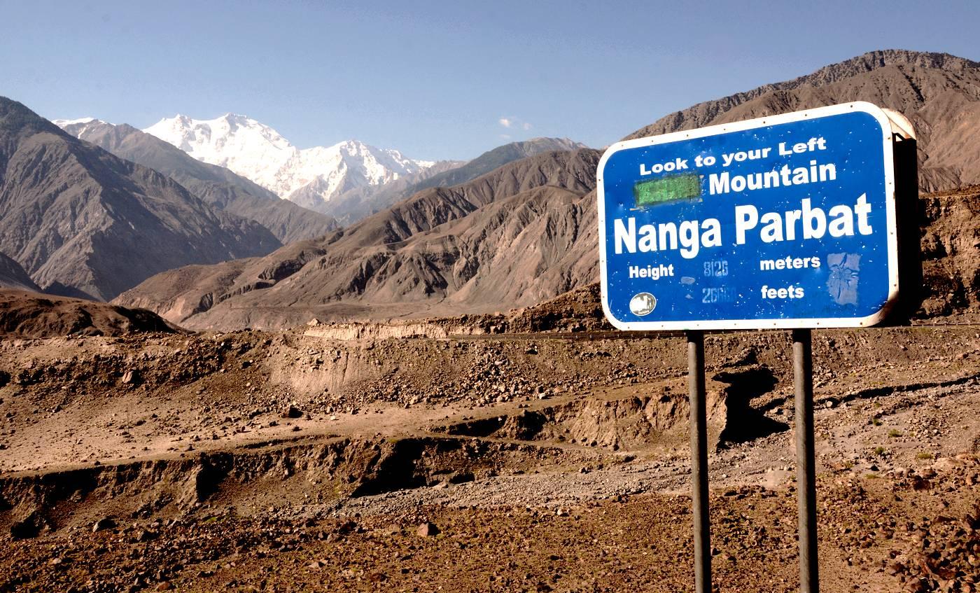 Nanga Parbat from KKH Gilgit-Baltistan