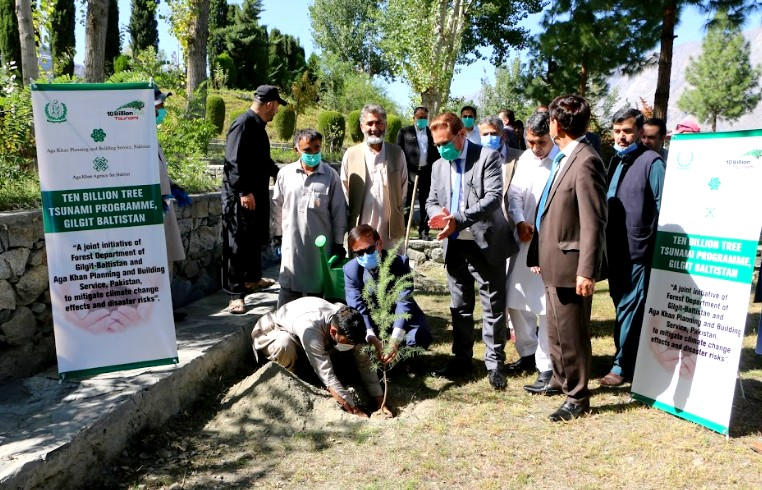 AKAH Pakistan and the Government of Gilgit-Baltistan Partner to Combat Climate Change and Natural Disasters