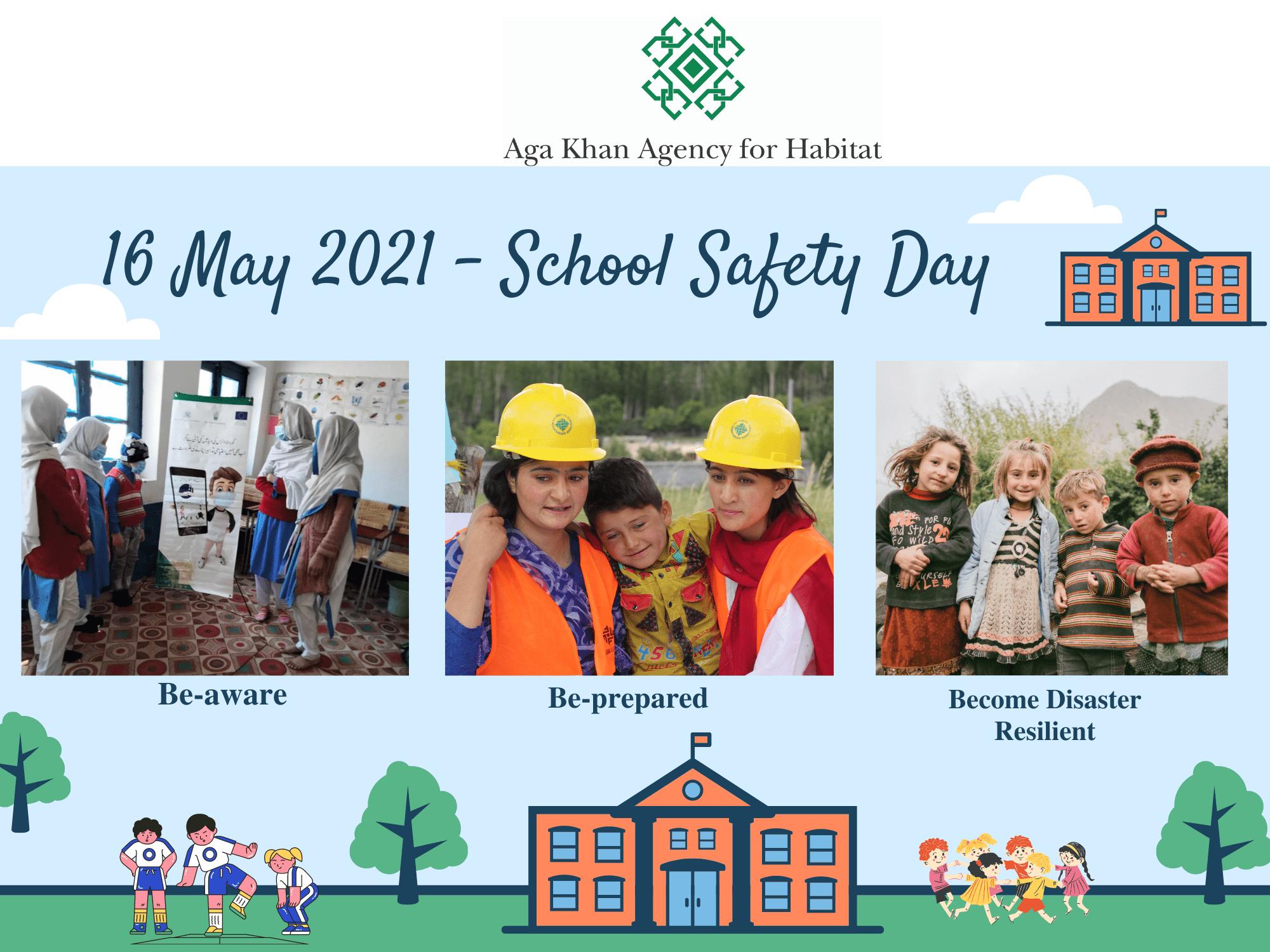 Aga Khan Agency for Habitat celebrates National School Safety Day in Pakistan